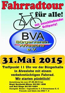BVA- Fahrradtour 2015